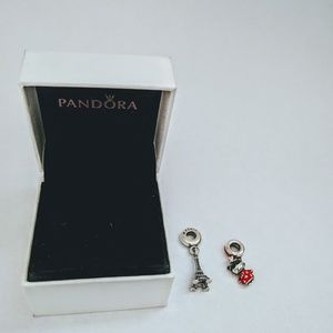 RESERVED: Pandora Chinese doll charm+box